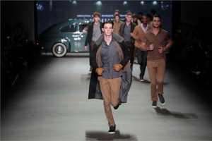 Amsterdam Fashion Week: menswear designer Sjaak Hullekes